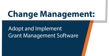grant management implementation