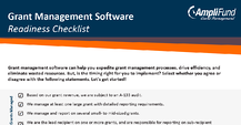 Grant Management Software Readiness