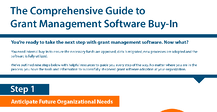 Grant Management Software Buy-In