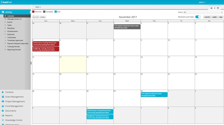 FTA Capital Investment Grant Calendar